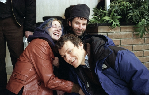 kaufman_winslet_gondry-on_set_500